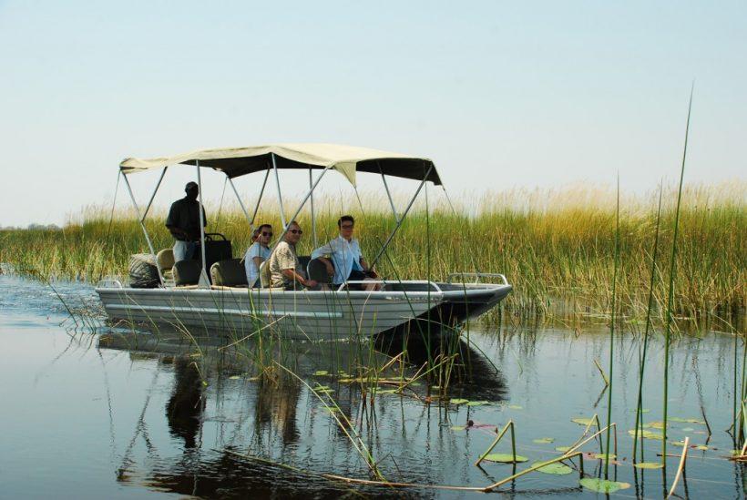 boat tours in Okavango Delta