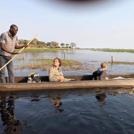 mokoro tours Okavango Delta