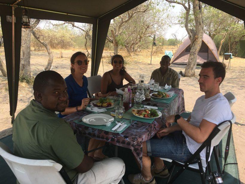 meyhu safari camping Botswana