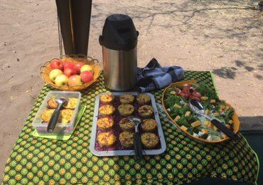 meyhu safari camping Okavango Delta - lunch